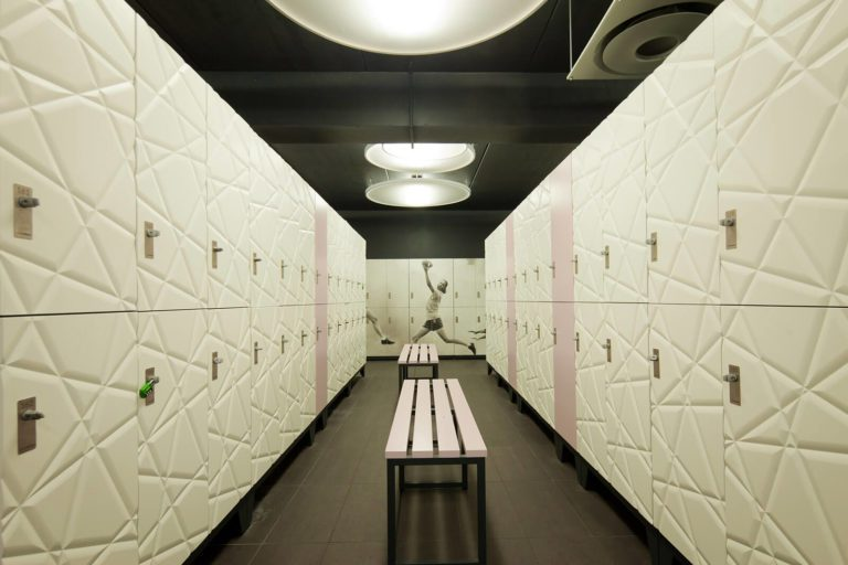 Clothing lockers