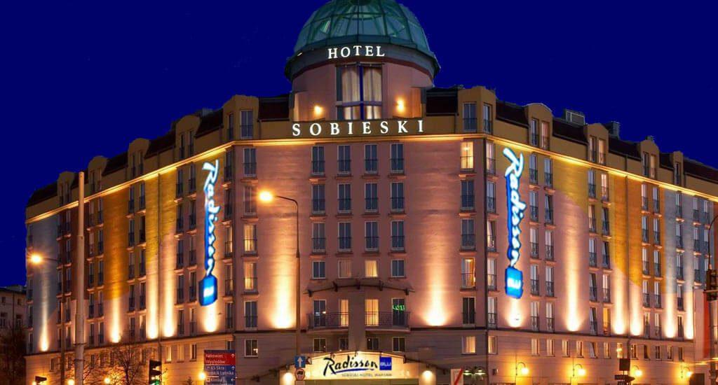 Schränke und Möbel für das Hotel Radisson Sobieski