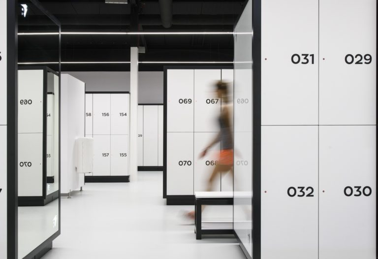Clothing lockers for sporting facilities and cloakrooms by Atepaa®